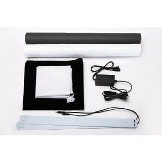 SOMITA 60方形摄影棚 LED小型摄影棚 产品拍摄棚简易静物柔光箱摄影器材箱专业便携拍照灯光盒子道具
