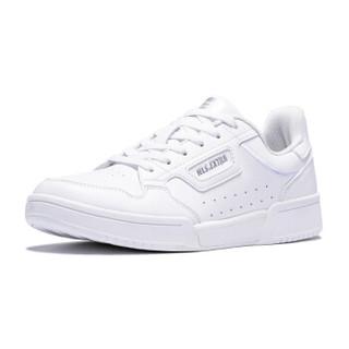 乔丹 女鞋潮流休闲运动情侣板鞋小白鞋 XM3690512  白色/银色 37.5
