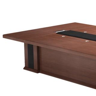 派格 (paiger)办公家具会议桌简约现代洽谈会客桌办公家具办公桌10-20人大型会议桌长桌