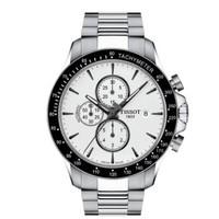 天梭(TISSOT)瑞士手表 V8系列钢带机械男士手表 T106.427.11.031.00