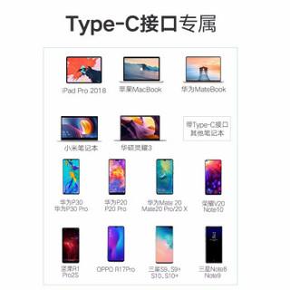 毕亚兹 Type-C转DP转换器线 1.8米 USB-C扩展坞适用苹果Mac笔记本电脑接电视显示器投屏线4K转接头 KZ5