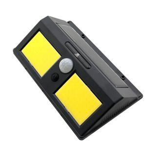 锐赛特 (RESET)RST-S25 太阳能灯LED人体感应壁灯户外防水照明路灯花园庭院别墅灯超亮 投光灯 96灯