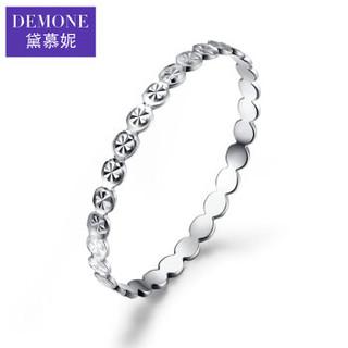 黛慕妮(DEMONE) 18K彩金戒指满天星女款戒指AU750戒指女款尾戒