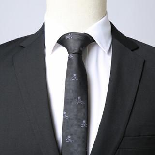 凯撒 KAISER 2019春季新款西装套装男 商务正装免烫抗皱职业装西服套装 黑色双排扣 190