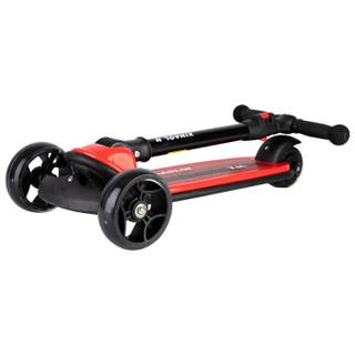 鑫奥林(XINAOLIN)儿童滑板车1-2-3-6岁可折叠小孩宝宝摇摆滑步车三轮踏板车平衡车 089红色