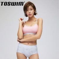 TOSWIM 拓胜 TS81120631 少女分体式泳衣