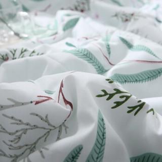 红豆家纺 夏凉被全棉夏凉被芯-叶影轻语1.5*2米