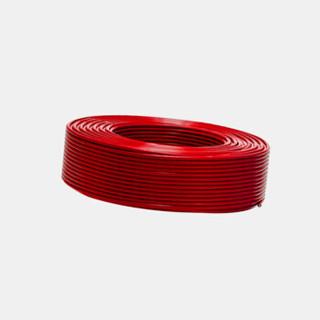 TONGHUI 山东同辉线缆 国标线缆 单芯软铜线ZR-BVR1 红色 100米/盘 此价格为1盘的价格 保检测
