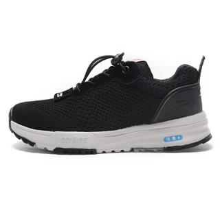 动力步 老人鞋男女安全防滑休闲运动散步软底爸爸妈妈情侣  DonLiBO D8873074 男款 黑色 43