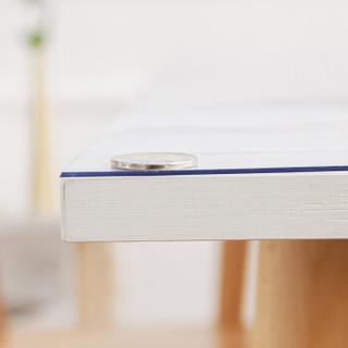 绿之源 耐高温家用桌布桌垫80*130CM-1.5MM餐桌布垫茶几布茶几垫软玻璃PVC透明防水防油
