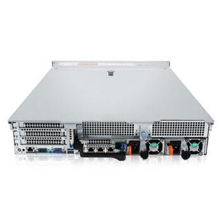 戴尔(DELL)R740 2U机架式服务器主机 铜牌3106*2/16G*4/2.4TSAS*3/H730P-2G/750W双电/导轨 三年质保