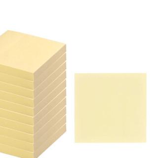 浩立信(LISON)76*76mm  100张/包 便利贴  黄色 留言便签纸 便利备忘贴 便签贴纸 便签条 告示贴