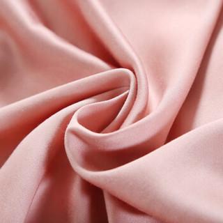 艾薇 床单家纺 60支贡缎竹纤维床单单件 公主粉 1.5/1.8米床 245*250cm