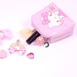 凯蒂猫(HELLO KITTY)儿童包包公主时尚斜挎包手提女孩宝宝女童迷你可爱小包 KT01A15023粉红