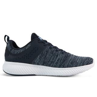 匹克(PEAK)男鞋轻逸透气舒适跑步鞋休闲运动鞋 DH910131 藏青 42码