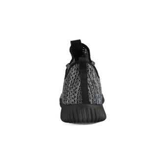 匹克(PEAK)男鞋耐磨舒适都市休闲鞋时尚运动鞋 DE910401 黑色/冷灰 38码