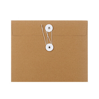 西玛 5000个 定制A4牛皮纸档案袋8cm 200g加厚 免费设计印刷企业LOGO 文件袋资料袋档案袋牛皮纸定制