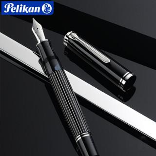 百利金Pelikan M815德国进口钢笔金属条纹180周年款礼盒F