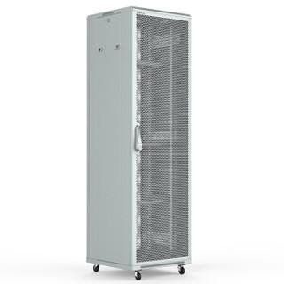 图腾(TOTEN)G3.6642 网络机柜 42U 2米 白色加厚机柜 交换机机柜 19英寸网格门机柜
