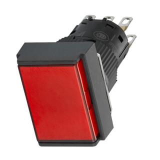 施耐德 XB6E 红色 24VAC/DC 1C/O XB6EDW4B1F 按钮