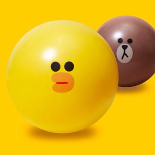 Keep LINE FRIENDS瑞士球加厚防爆瑜伽弹力球男女健身装备 21020666/10860 布朗熊 65cm