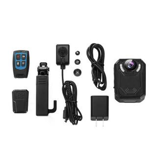 影卫达DSJ-V9执法记录仪微型4K高清红外夜视录像14小时(内置128G遥控+外接)