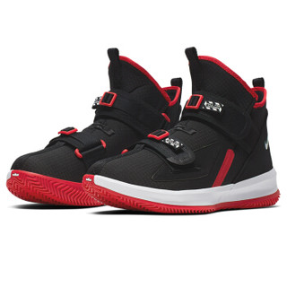 耐克NIKE 男女同款 篮球鞋 勒布朗 LEBRON SOLDIER XIII SFG EP 运动鞋 AR4228-003黑色40码