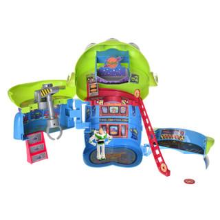 多美儿童玩具男孩女孩玩具动漫周边迪士尼玩具总动员玩偶套装-太空外星人变形基地864189