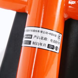 喜德盛电动车 TDT30Z新款成人助力电瓶车 电动自行车48V锂电池男女代步车 豹子PLUS 橙色