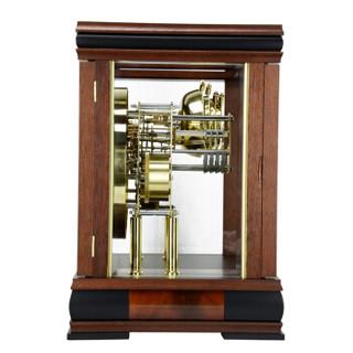 赫姆勒(Hermle)德国原装欧式客厅现代木质座钟台钟22998
