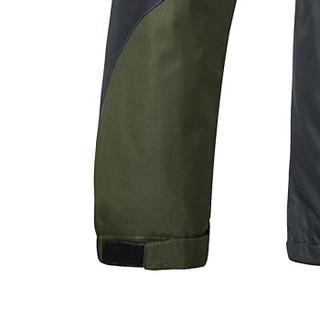 AEMAPE/美国苹果 冲锋衣男女情侣款可拆卸帽夹克男外套防风衣户外服装 AP5801 军绿(男) 4XL