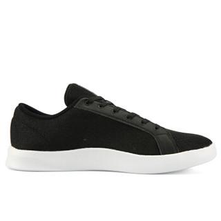 匹克(PEAK)男鞋休闲耐磨板鞋运动舒适经典文化鞋 DB920057 黑色/大白 44码