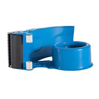 齐心(Comix) 60mm金属封箱器/胶带切割器/打包器/胶带座 蓝 B3110
