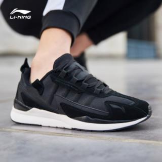 李宁 LI-NING AGCN339-3 运动时尚系列 男 运动时尚鞋 标准黑/乳白色 45
