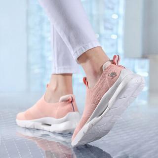 骆驼(CAMEL) 运动网面女生旅游鞋时尚轻便透气休闲运动鞋 A91330656 艳粉 36