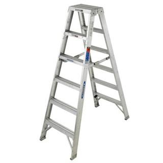 稳耐(werner)铝合金双侧折叠梯 2.1米 T377CN 可定制