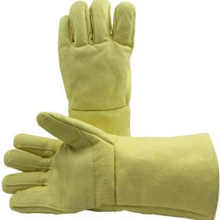 成楷科技(CK-Tech)CKS-ABAA15-38 500度隔热手套 五指灵活防烫防高温 加厚防火防热工业耐磨耐高温手套