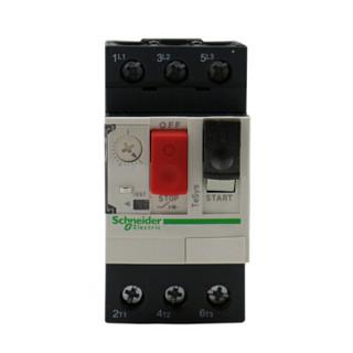 Schneider 施耐德电动机断路器 TeSys热磁式电动机断路器,按钮控制,整定电流0.4-0.63A  GV2ME04C