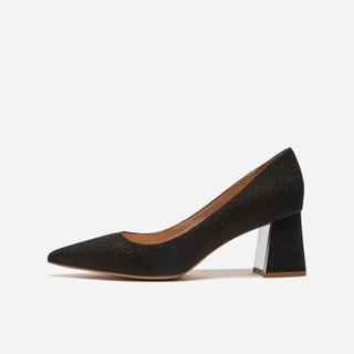 热风HotwindH18W9501女士时尚高跟鞋 13银色 37