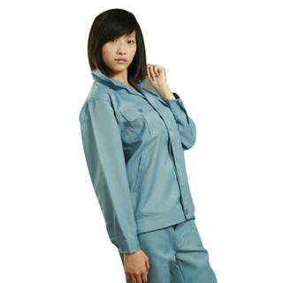 星工(XINGGONG)防酸防静电工作服套装 电子化工厂劳保服定制 浅蓝M码6013-25