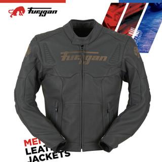 Furygan Sherman(谢尔曼)法国原产 摩托机车赛车骑行皮衣 竞赛级牛皮 D3O护具 L
