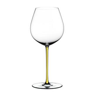 奥地利醴铎RIEDEL璀璨系列进口黑皮诺红葡萄酒杯高脚杯高端手工无铅水晶玻璃酒杯黄杆单只装4900/07Y