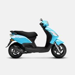 PIAGGIO 比亚乔 BYQ150  FLY标准版 踏板摩托车 海浪蓝