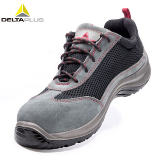 代尔塔 (Deltaplus) 301223反毛牛皮劳保鞋绝缘12KV/防砸/防刺穿/耐磨/耐油/防滑定做44码