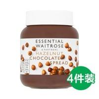 waitrose 維特羅斯 榛子巧克力醬 400g*4罐