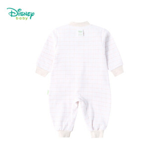 迪士尼(Disney)童装婴幼儿衣服印花棉长袖哈衣爬服男女宝宝前开连体衣 183L747 浅黄 24个月/身高90cm