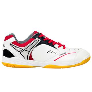 Evervon 乐士止滑耐穿减少摩擦健身网球鞋初级训练羽毛球鞋男女款 SH-801 白色 42