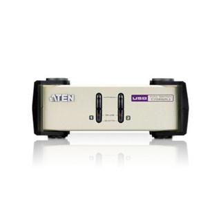 ATEN宏正2进1出多电脑KVM切换器 2口PS2/USB键鼠共享器 CS82U
