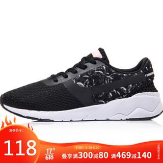 李宁  LI-NING AGCM054-4 运动时尚系列女子经典休闲鞋 黑/白 35码