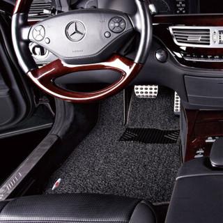 3M 丝圈汽车脚垫 大众朗行脚垫 静享系列 黑色 定制